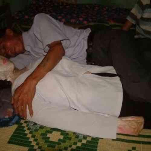 Ocho años durmiendo con una muerta