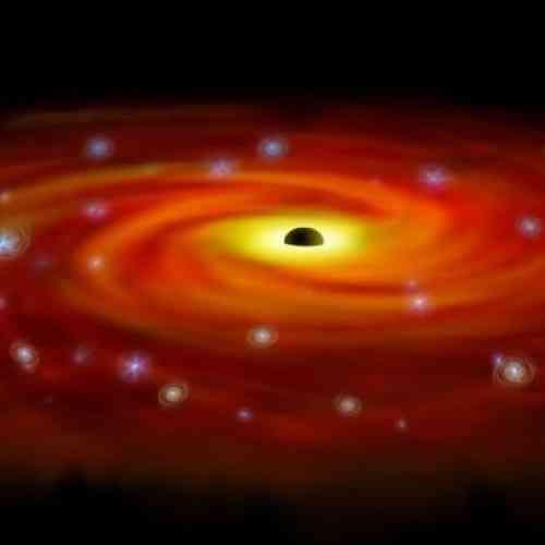 Descubren los dos agujeros negros más grandes nunca vistos hasta la fecha