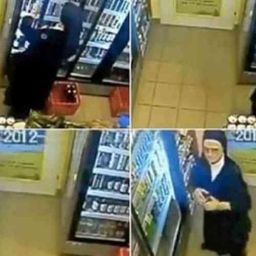 Una monja roba en un supermercado… ¡¡¡una lata de cerveza!!!