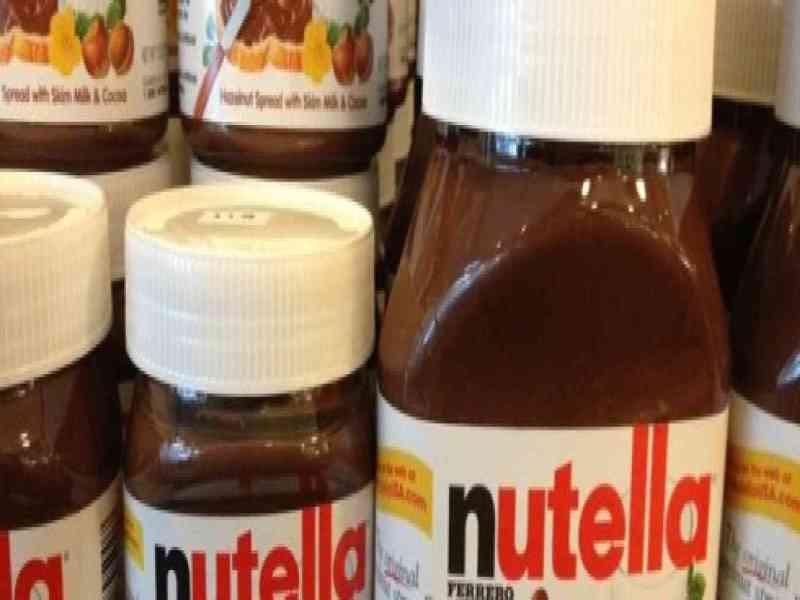 Roban cinco toneladas de Nutella en Alemania