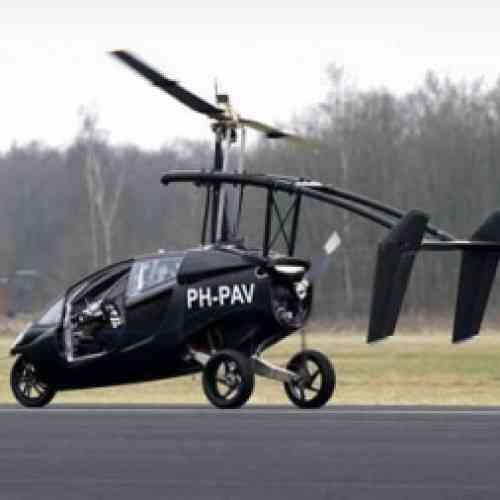 Crean un coche volador