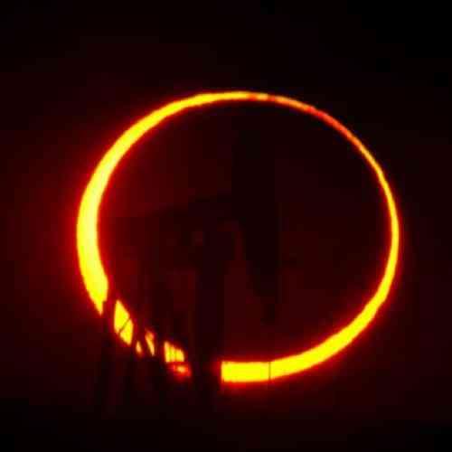 El eclipse anular de Sol fue contemplado por millones de personas