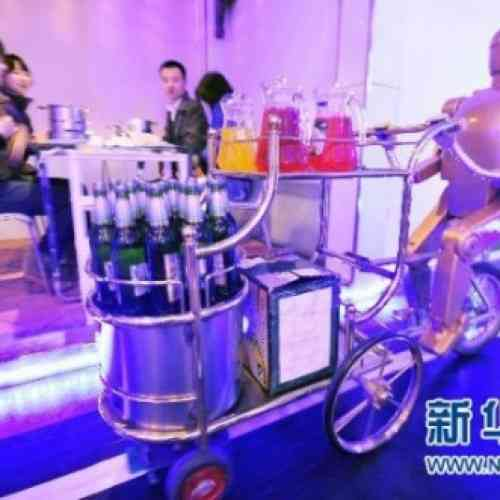 China inaugura restaurante atendido sólo por robots