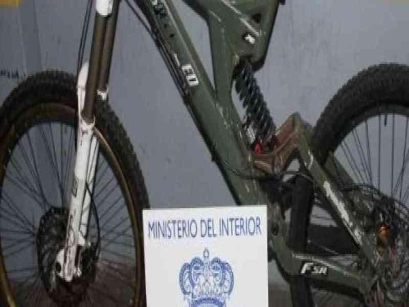 Detenido tras robar una bicicleta cuyo dueño la vio a la venta por internet