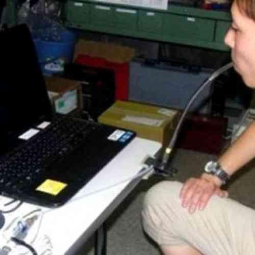 Inventan en Japón un ratón de ordenador que funciona con la respiración